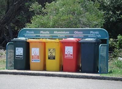 美国垃圾分类
